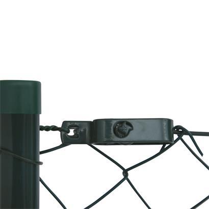 Maschendraht Zaunset mit Einschlaghülsen 0,8 x 15 m