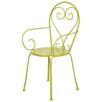 Gartenmöbel Set von Esschert Design Metall Gartenbank grün