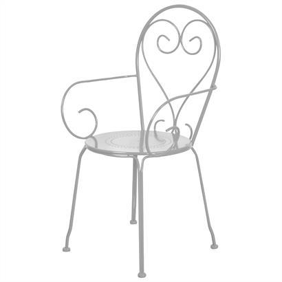 Gartenstuhl Metall von Esschert Design 2er Set