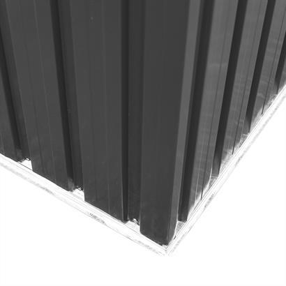 Geräteschuppen Metall anthrazit Satteldach
