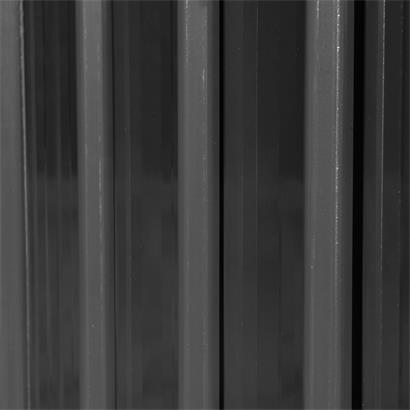 Geräteschuppen anthrazit 257x312x192 cm