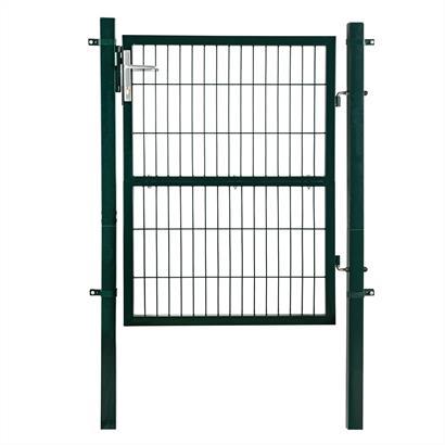Gartentür Set 140 cm Metall grün
