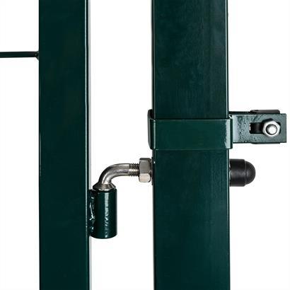 Gartentür Set 100 cm Metall grün