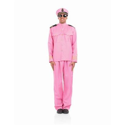 Offizier Kostüm rosa
