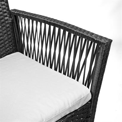 Rattan Gartenstühle 2er Set