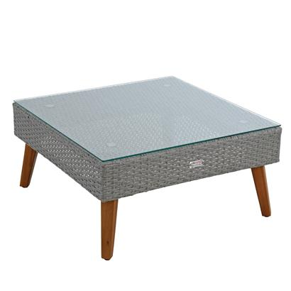 Gartenlounge Lounge Sitzgruppe Gartenset Polyrattan Gartenmöbel Grau-Mix