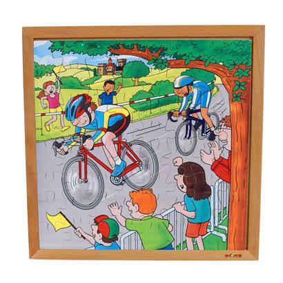 Puzzle Holzpuzzle Holzspielzeug 3er Überraschungs-Set Kinder Spielzeug Lernspiel