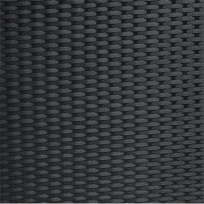 Rattan Sitzgruppe cube Würfelsystem schwarz für 10 Personen
