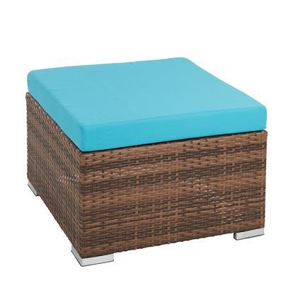 Polyrattan Lounge Set braun
