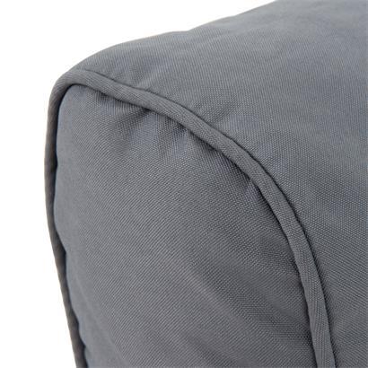 Polyrattan Sofa Set 7teilig grau