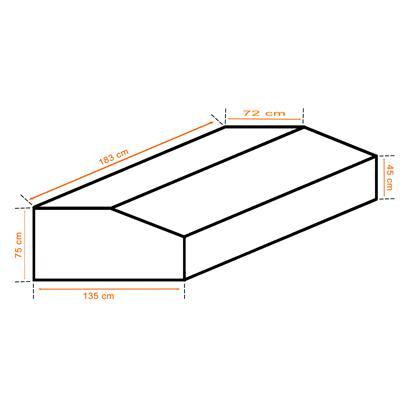 Schutzhülle Schutzplane Abdeckhaube für Gartenmöbel Sitzgruppe Rattanmöbel Plane