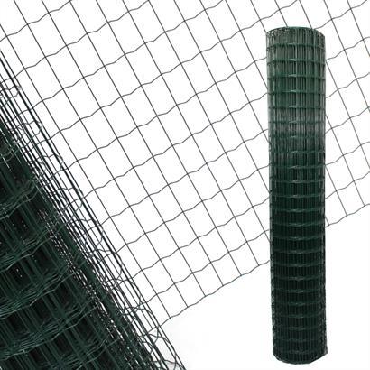 Schweißgitter Maschendrahtzaun grün