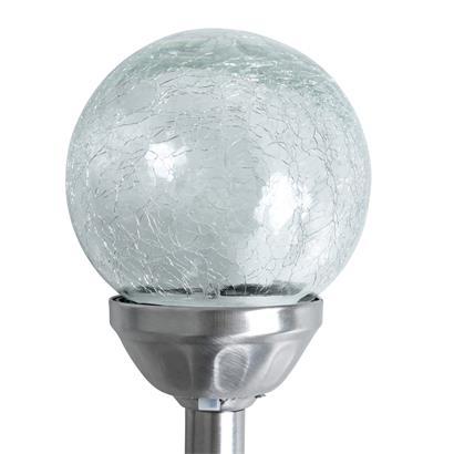 Solarkugel Glas Leuchtkugel 6er Set 12 cm Solarleuchte LED Solarlampe Lampe