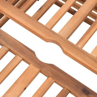 Sonnenschirmhalter Abdeckung Akazienholz
