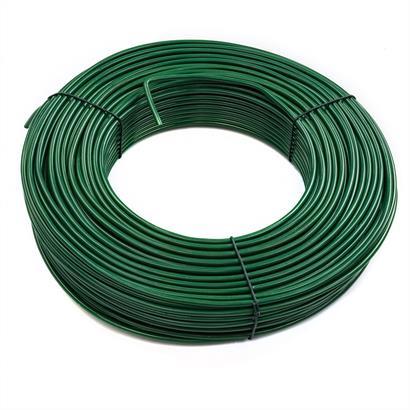 Spanndraht 3,8 mm verzinkt, anthrazit oder grün