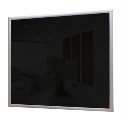 Glas Infrarotheizung 300 Watt schwarz