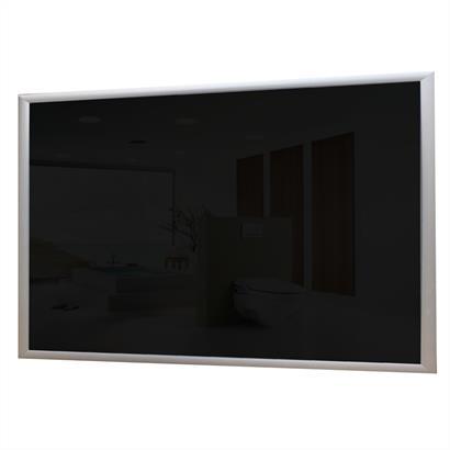 Glas Infrarotheizung 600 Watt schwarz
