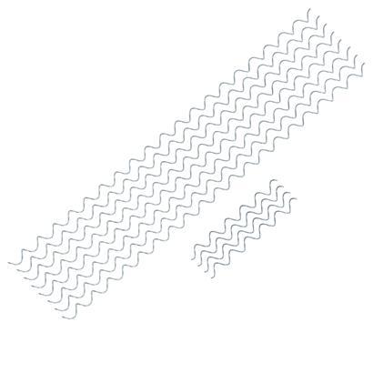 Gabionen Steinkörbe 100 x 100 x 30 cm