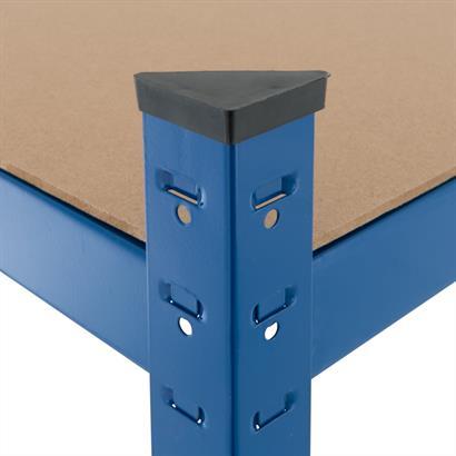 Steckregal verzinkt oder blau