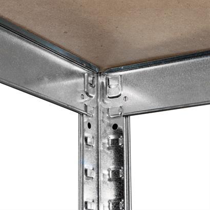 Steckregal Metall verzinkt
