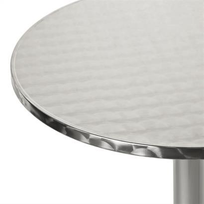 Aluminium Stehtisch höhenverstellbar klappbar