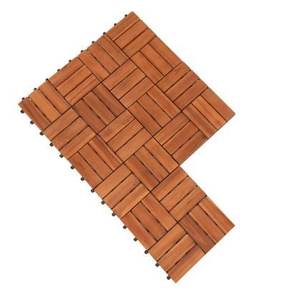 Terrassenfliesen Klickfliesen Holzfliesen 11x Platten Balkon Fliesen Garten 1m²