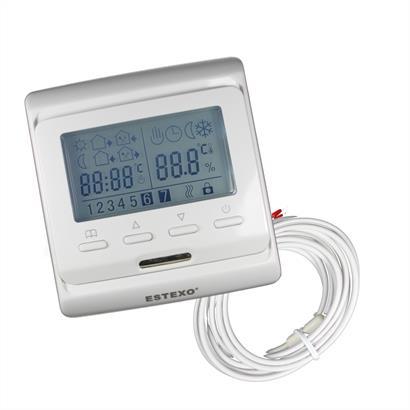 Thermostat E51.716 für elektrische Fußbodenheizungen und Infrarotheizungen