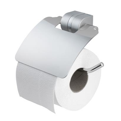 Badaccessoires Tiger Cria Toilettenpapierhalter mit Klappe Chrom matt