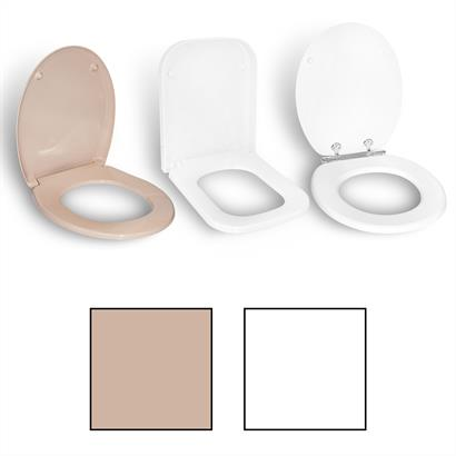 Toilettensitz mit Absenkautomatik, Easy Clean und Toilettendeckel Soft-Close
