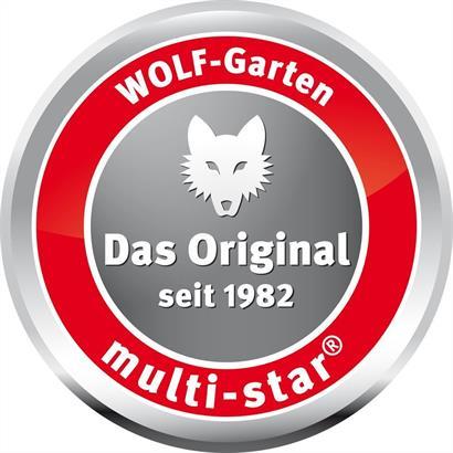 Wolf Aluminium Stiel multi-star ZMI 15 Gerätestiel 144 cm Länge