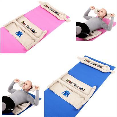 Yogamatte 61 x 173 cm pink oder blau
