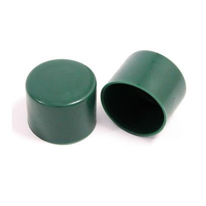 Pfostenkappe Ø 34 mm aus Kunststoff für Maschendraht Zaunpfosten