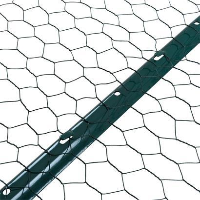 Zaunset Sechseckgeflecht Zaun Draht 0,50 x 10 m Komplett-Set Drahtzaun 25 mm