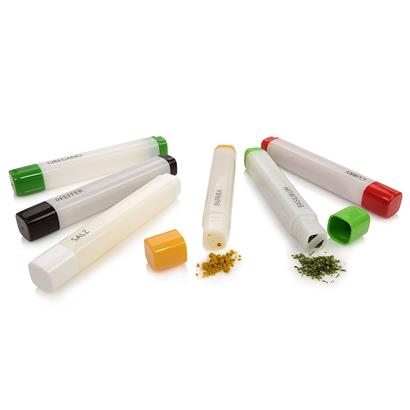 Gewürzstreuer Set mit 6 Gewürzstiften