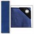 Abdeckplanen Farbe Blau Grün 1,5m x 6 m aus PE Tarpaulin reiß- und wasserfest mit Metalloesen und verstaerktem Saum Grammatur waehlbar 90 g/m² 180 g/m² 260 g/m²