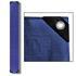 Abdeckplanen Farbe Blau Grün 1,5m x 12 m aus PE Tarpaulin reiß- und wasserfest mit Metalloesen und verstaerktem Saum Grammatur waehlbar 90 g/m² 180 g/m² 260 g/m