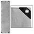 Abdeckplanen Farbe Grau 1,5m x 6 m aus PE Tarpaulin reiß- und wasserfest mit Metalloesen und verstaerktem Saum Grammatur waehlbar 90 g/m² 180 g/m² 260 g/m²