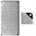 Abdeckplanen Farbe Grau 6m x 12m aus PE Tarpaulin reiß- und wasserfest mit Metalloesen und verstaerktem Saum Grammatur waehlbar 90 g/m² 180 g/m² 260 g/m