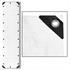Abdeckplanen Farbe Weiss 1,5m x 6 m aus PE Tarpaulin reiß- und wasserfest mit Metalloesen und verstaerktem Saum Grammatur waehlbar 90 g/m² 180 g/m² 260 g/m²