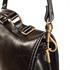 Aktentasche Leder schwarz mit Schultergurt