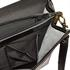 Aktentasche Leder schwarz mit Handyfach