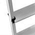 Aluminium Trittleiter Trittflächen mit Anti-Rutsch-Profil
