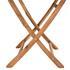 Akazienholz Gartenmöbel Set Tisch klappbar