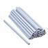 30 Befestigungsclips für PVC Sichtschutzstreifen grau