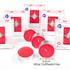Estexo® 24 Maxi Teelichter, Duft Rote Fruechte,  Brenndauer 9 Stunden