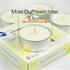 Estexo® 24 Maxi Teelichter, Duft Vanille,  Brenndauer 9 Stunden