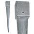 Einschlaghülse Vierkant 121 x 121 mm Länge 900 mm