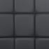 Esszimmerstuhl mit hochwertigem Kunstlederbezug, Freischwinger Farbe schwarz, Gestell aus Metall verchromt