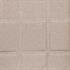 Esszimmerstuhl 2 er Set mit Stoffbezug in Beige, 3 cm Polsterung, mit Metall Stuhlbeinen in Holzoptik, Detailansicht der Sitzflaeche