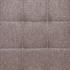 Esszimmerstuhl Freischwinger mit Stoffbezug in der Farbe Beige, Grau, Polsterstuhl mit Metall Gestell verchromt, Detailansicht von Stoffbezug